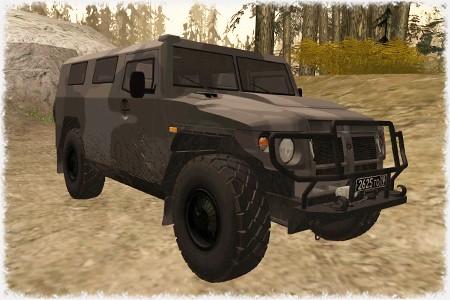 """ГАЗ-2975 """"Тигр"""""""